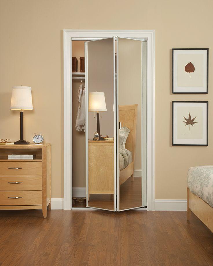 Bedroom Cupboards With Mirror Sliding Doors Bedroom Athletics Review Bedroom Furniture Arrangement Ideas 3 Bedroom Apartment Plan 3d: Best 25+ Mirrored Bifold Closet Doors Ideas Only On