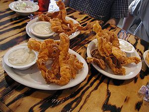 Chicken Fried Bacon. . . I have to find a reason to try this.