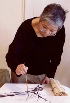 Artist Sungsook will lead visitors through traditional calligraphy workshops.