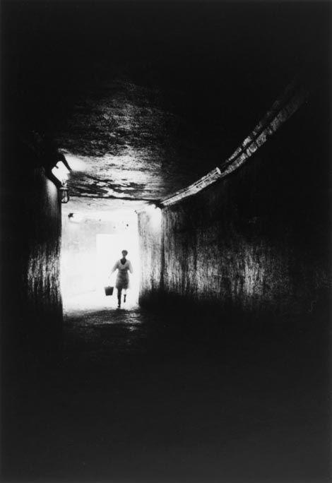 "Ikko NARAHARA :: Island without Green―Gunkanjima: The Tunnel from ""Human Land″, 1954-57"
