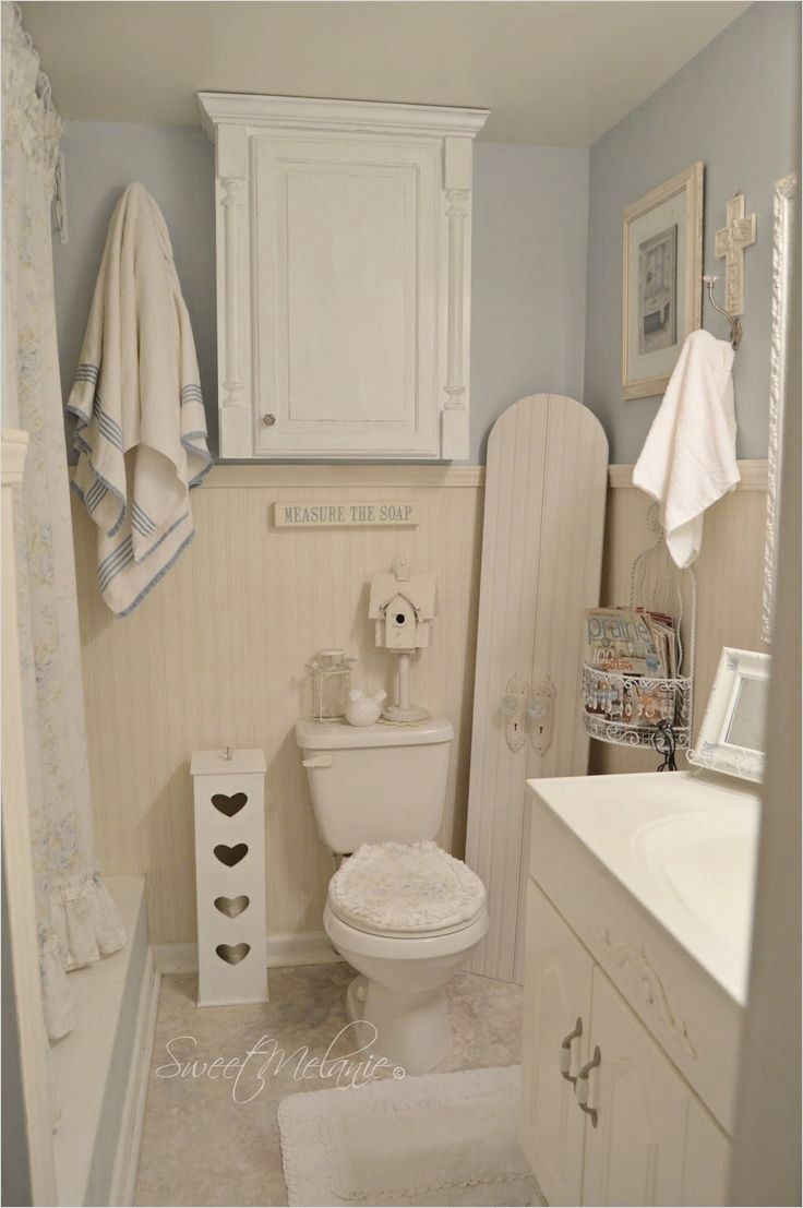Stunning French Country Small Bathroom