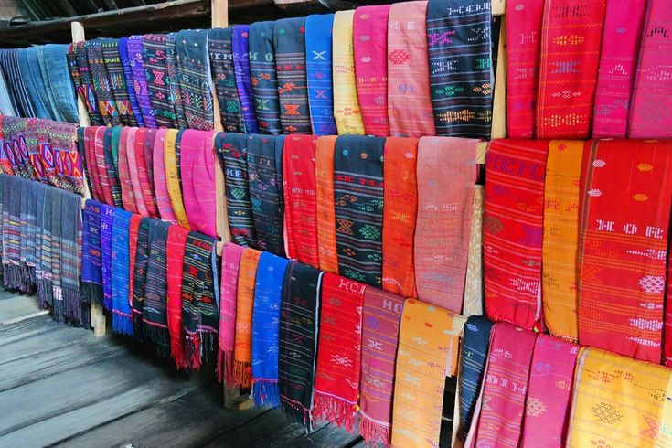 colorful- from the land of the Batak people