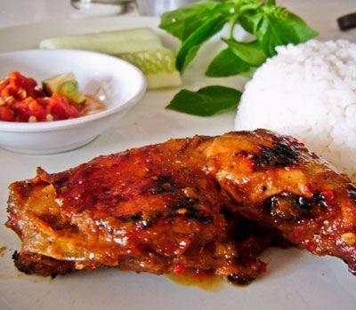 Ayam Bakar Khas Padang #Indonesia