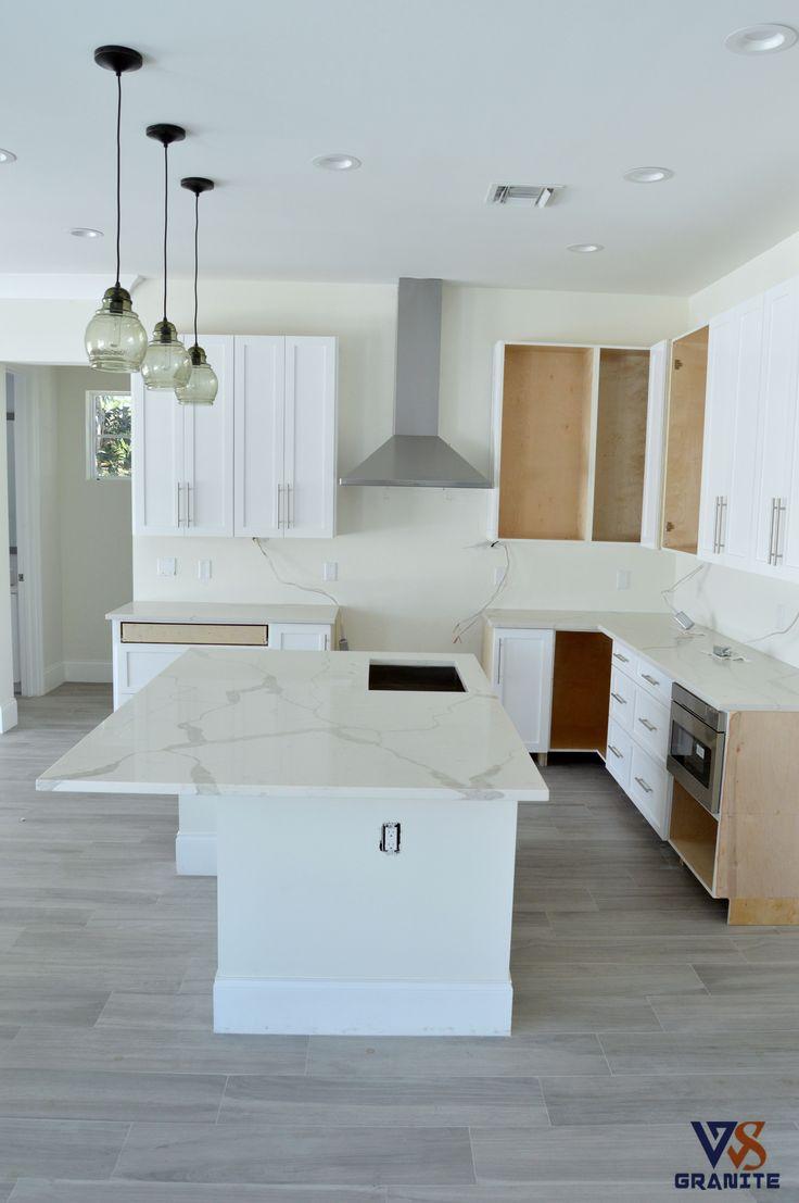 Kitchen countertops material calacatta classique from for Materials for kitchen countertops