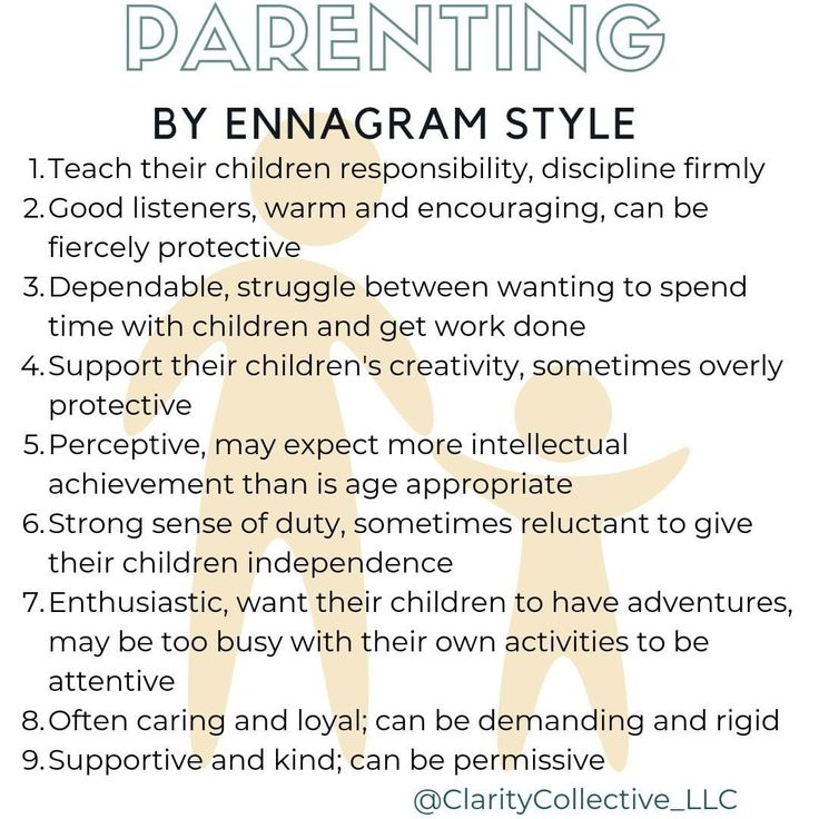 Parenting is a big job. Understanding our Enneagram style