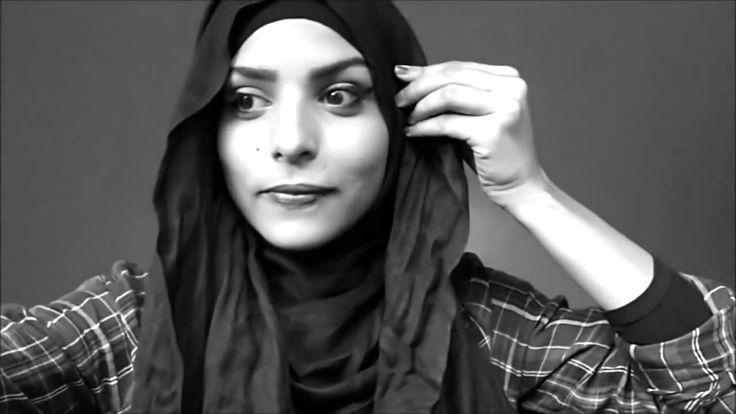 Beautiful Hijab Tutorial Back To School Work Hijab Styles !