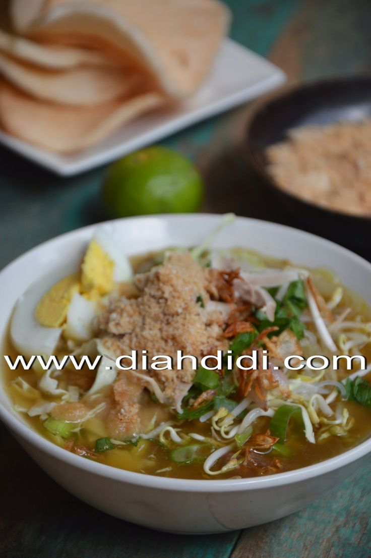 Diah Didi's Kitchen: Soto Ambengan..Seger..Pas Buat Menu Buka Puasa ^^