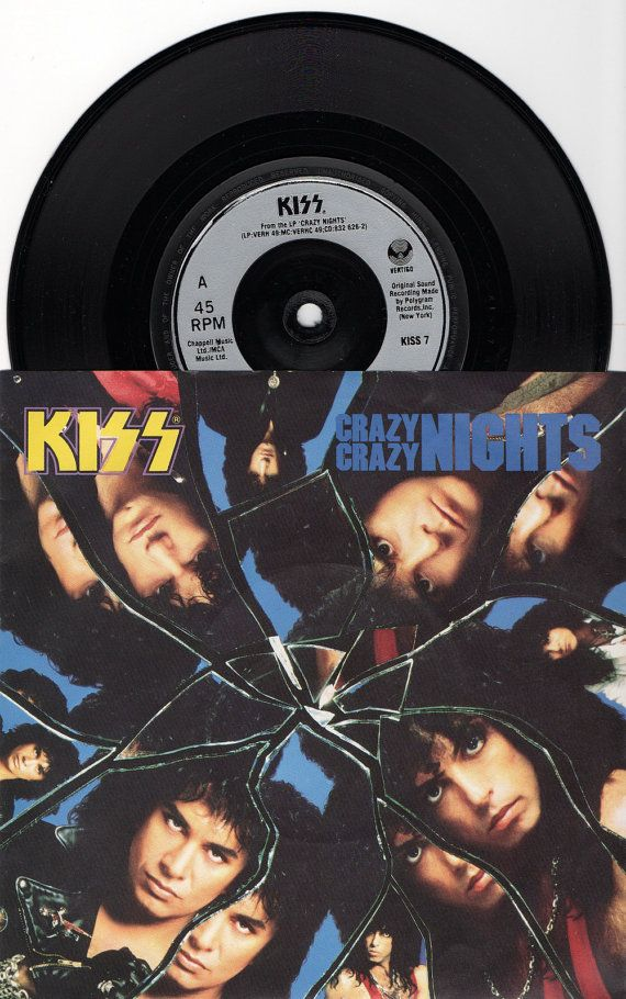 Hey, I found this really awesome Etsy listing at https://www.etsy.com/uk/listing/107744276/kiss-crazy-crazy-nights-1987-uk-issue-7
