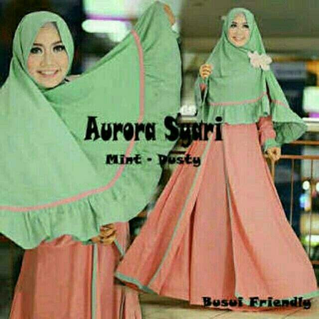 Saya menjual Aurora syari mint dusty seharga Rp145.000. Dapatkan produk ini hanya di Shopee! http://shopee.co.id/alunashop/4347047 #ShopeeID