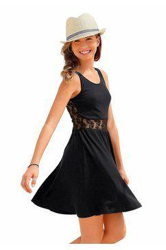 PETITE FLEUR jurk met kanten inzet, voor meisjes