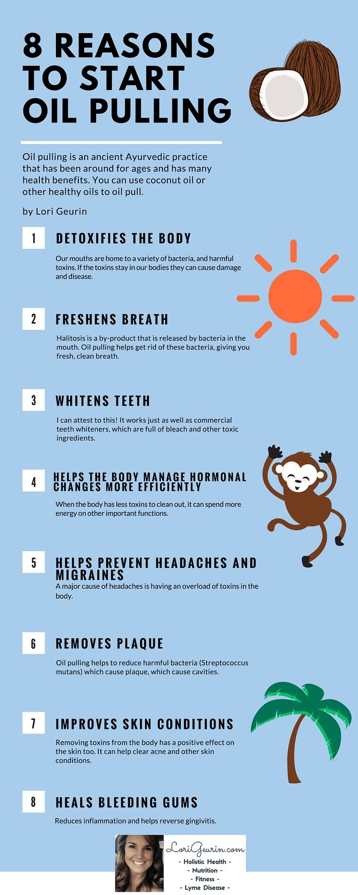 8 Reasons To Start Oil Pulling For Better HealthLaura Zaplitny