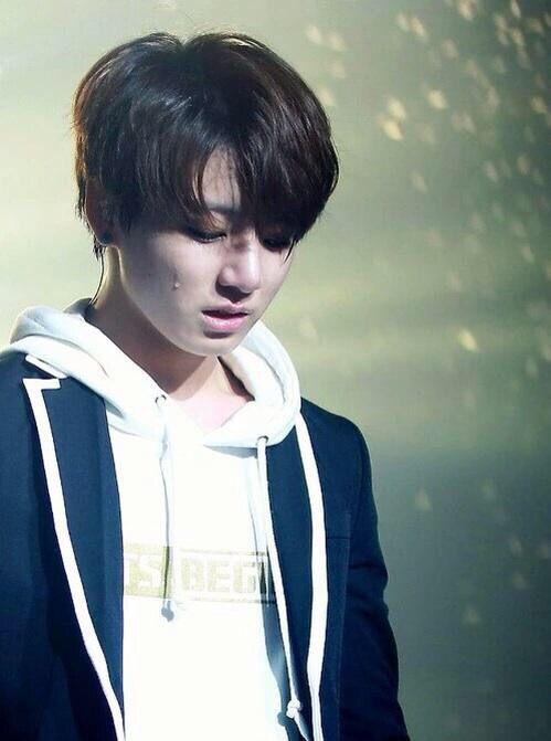 Dói só de vê-lo chorar