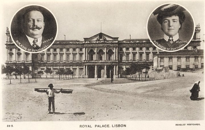 Ajuda Palace when there was a Monarchy