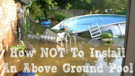 Best 25 above ground pool ideas on pinterest diy in for Pool design mistakes