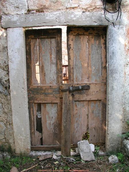 Old, old Door
