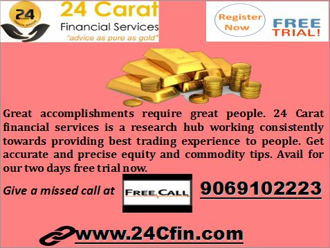 We provide free profit calls for EQUITY & COMMODITY tips.If you want more information regarding the Stock cash tips, Stock tips, Nifty tips, Commodity tips, Equity tips missed call @ 9069102223 please drop your number for profit calls....http://24cfin.com/free-trial #stockcashtips #stockfuturetips #freetradingtips
