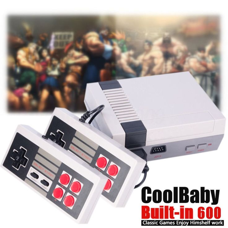 NES Retro Game Console, (HDMI OUTPUT) With (**600**) pre Installed classic Games