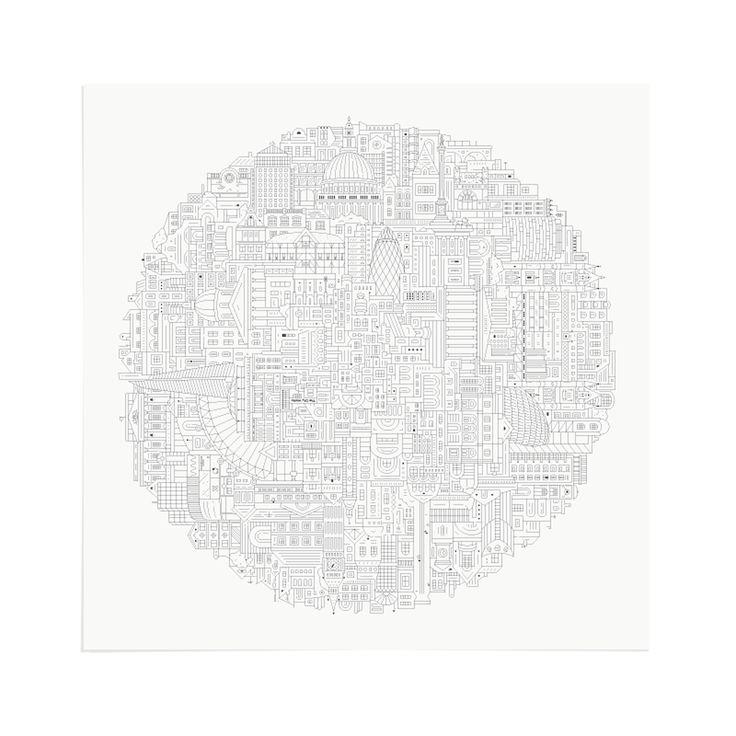 London Circular - Art Print by The City Works.