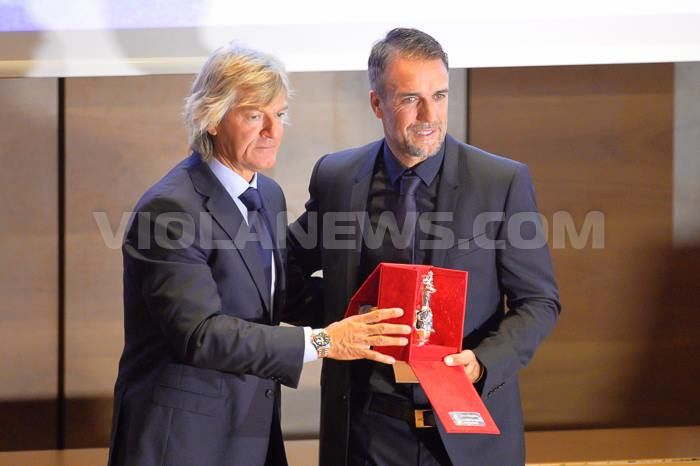 Batistuta in Fiorentina Hall of fame