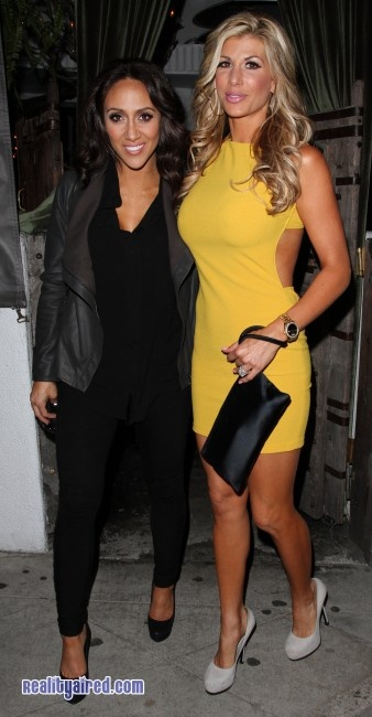 Housewives Stars Melissa Gorga and Alexis Bellino Collide in Hollywood