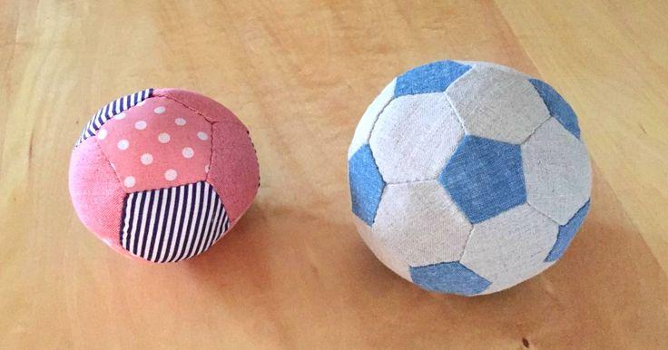 子どもが大好きなボール遊び。やわらかい布ボールなら、あたっても痛くないので安心です。今回は、五角形のピースで作るペンタゴンボールと、五角形と六角形のピースをつなぎ合わせて作るサッカーボールの手作りレシピをご紹介します。小…