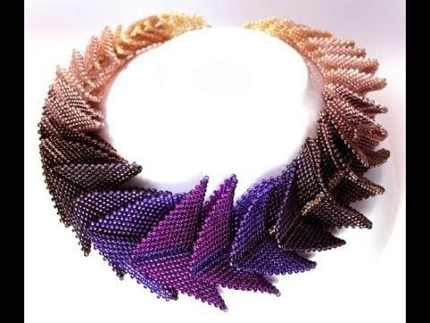 ~Peyote Stitch Pentagon With Herringbone Stitch Facets - Ana María Buse de Avil YouTube