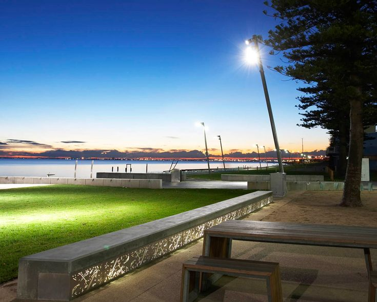 Elwood Foreshore by Aspect Studios Lighting