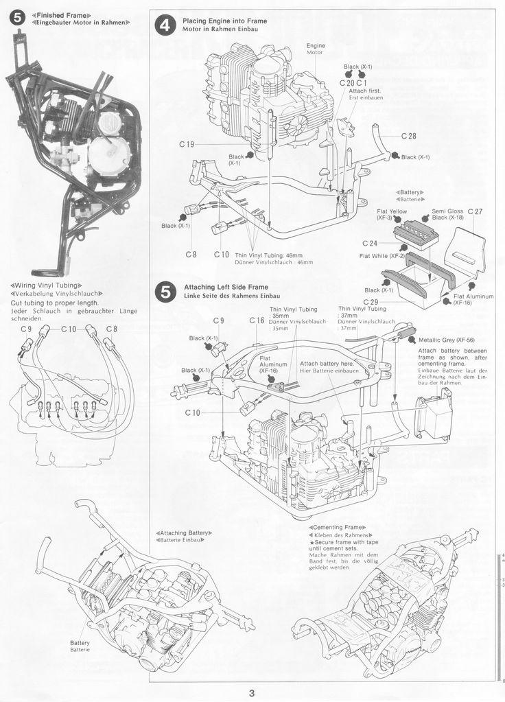 12 best Tamiya 1/12 Kawasaki KR1000F images on Pinterest | Tamiya ...