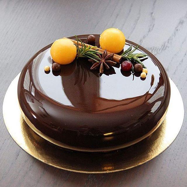 Chocolate-Passionfruit & Mandarin. By @jb_juliabaker  #DessertMasters