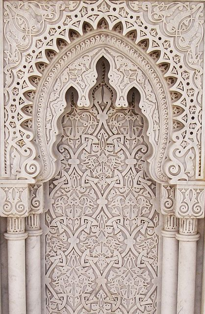 arabesque, mausoleum of mohammed v