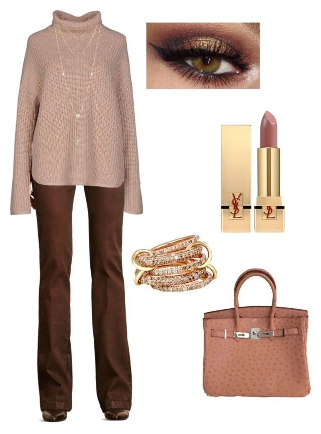 """""""Invpra"""" by pasha21 on Polyvore featuring Ralph Lauren, Brunello Cucinelli, SPINELLI KILCOLLIN, House of Harlow 1960 and Yves Saint Laurent"""