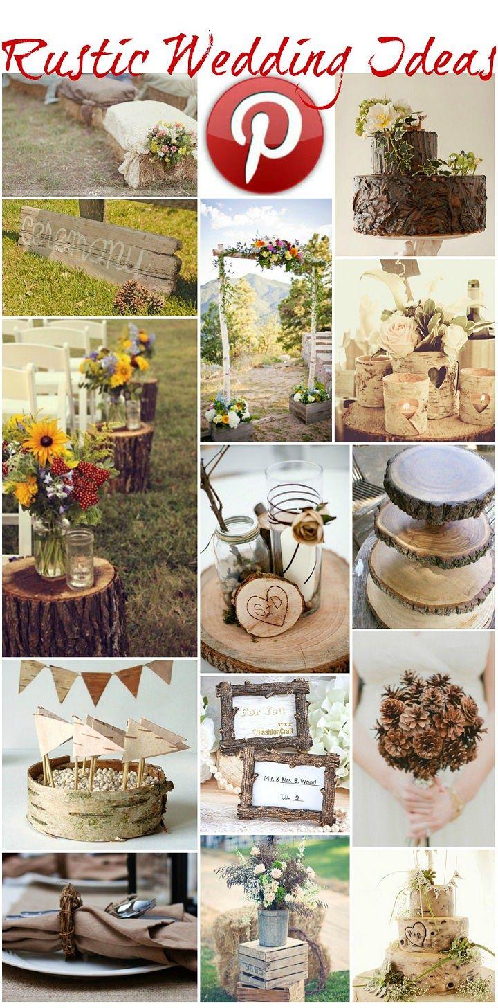Rustic Decorating Ideas for Weddings | Rustic Wedding Ideas On a Budget