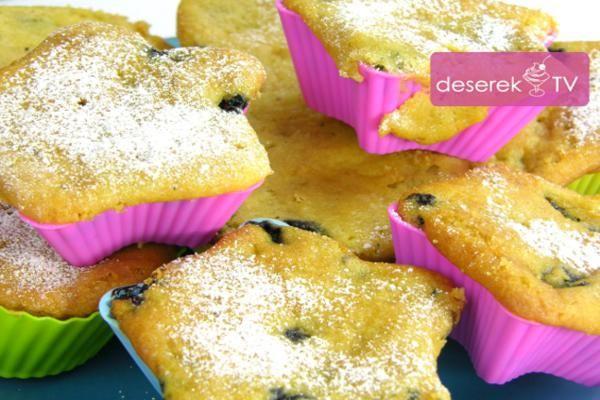 Muffinki owocowe przepis | Deserek.TV - Przepisy Kulinarne ze Zdjęciami, przepisy na ciata, desery, wypieki. Jogurty mrożone,desery, Zdrowa żywność, mrożona kawa - Video przepisy, Polska Gotuje:deserektv