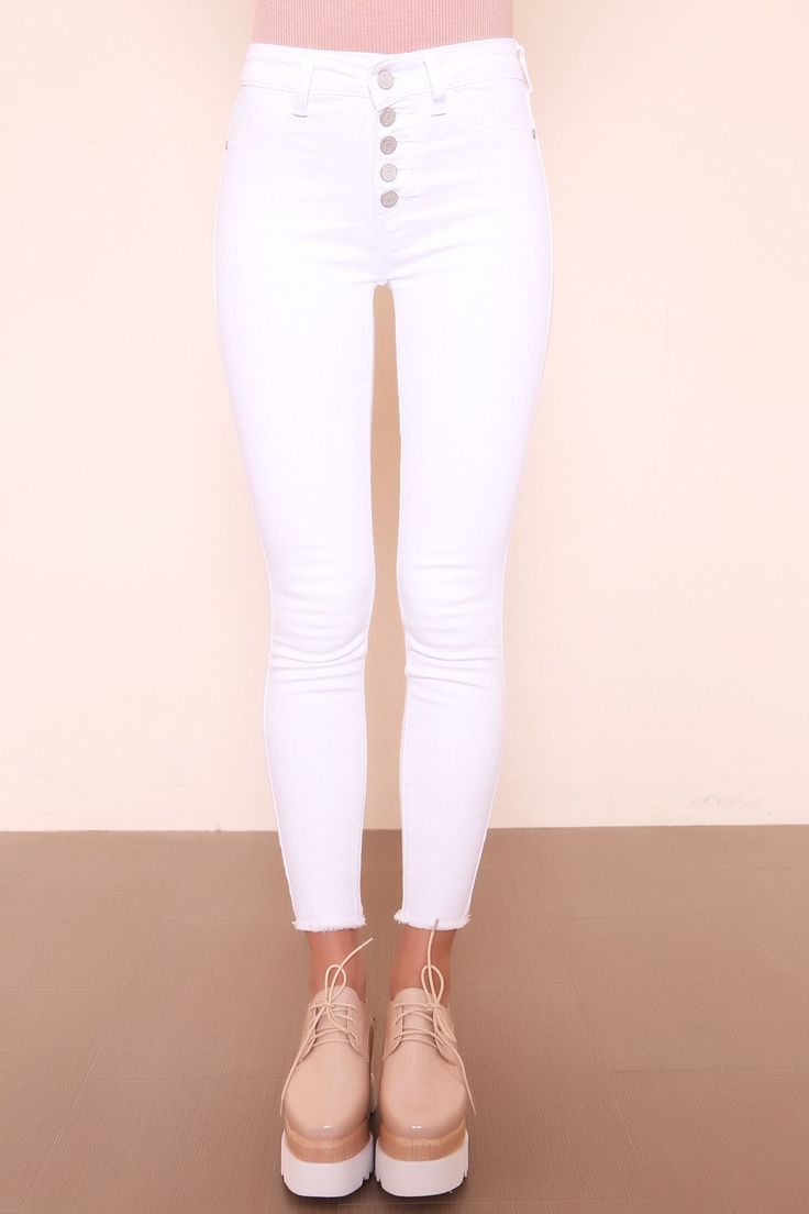 Iced Out Skinny Jean