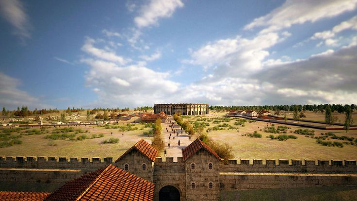 Gladiator games: Experts harness tech to reveal Roman city's secrets