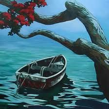 Image result for pohutukawa tree painting