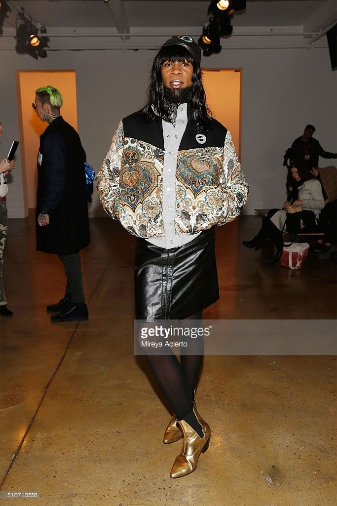Party promoter Andre J attends the Gypsy Sport fashion show during Fall 2016 MADE Fashion Week at Milk Studios on February 16, 2016 in New York City.