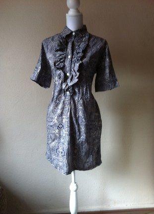 Kaufe meinen Artikel bei #Kleiderkreisel http://www.kleiderkreisel.de/damenmode/klassische-kleider/147541471-paul-joe-sister-delamour-short-sleeve-ruschen-hemdblusenkleid-42
