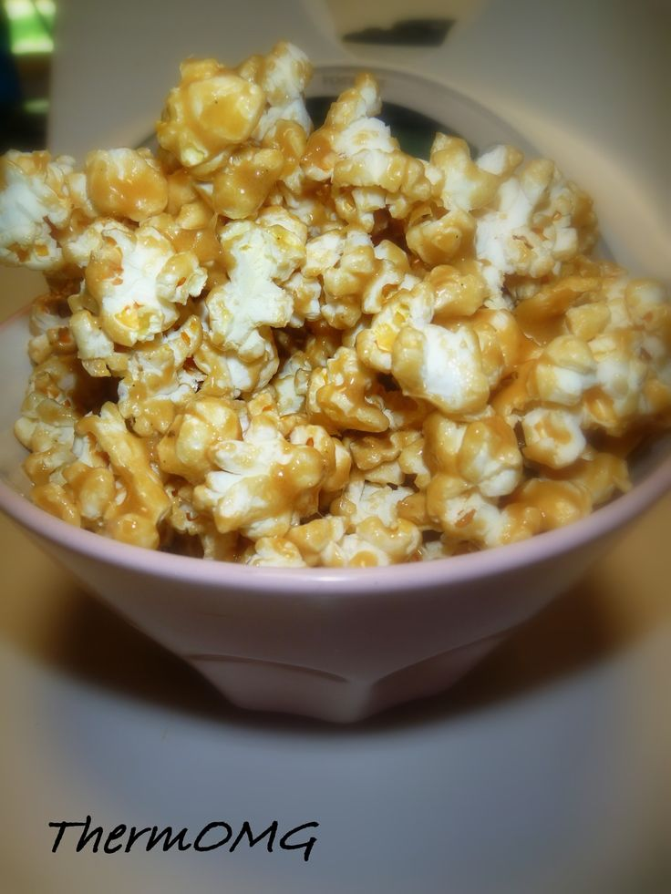 Just had a hankering for caramel popcorn (probably wishing I was in  Singapore stuffing myself silly with Garrets popcorn).  So while this is  not as good as Garrets, I couldn't keep my hand out of the bowl.  Next time  I might add some macadamias or cashews for a bit of crunch!  Eb x      * 80g butter popcorn (diced)     * 130g brown sugar     * 30g glucose syrup     * 80g marshmallows     * big bowl of popped popcorn  Add butter to the bowl and melt for 3 minutes at 70deg on Speed 2.  Add…