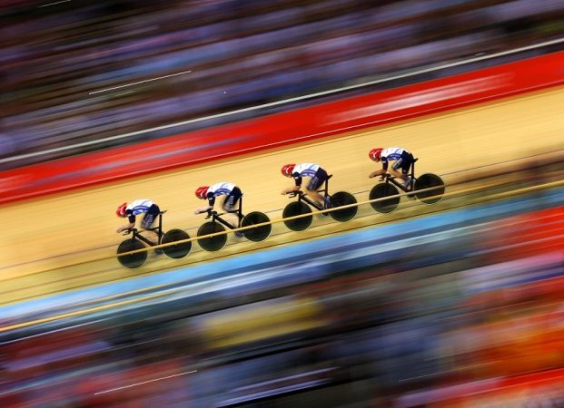 Combining speed, tactics & bikes that have no brakes, #cycling at the Rio Olympic velodrome is sure to a adrenaline fueled excitement! Starting Thurs 11th August. #moreadventure #roadbike #cyclingshots #adventure #Rio2016