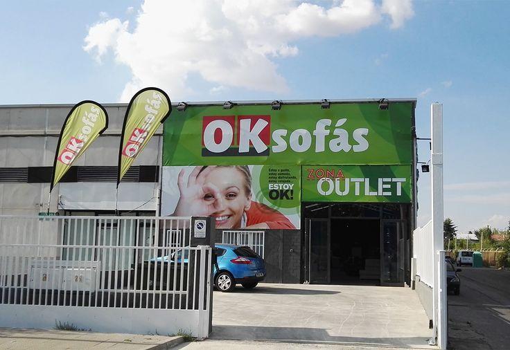 Tienda #OKSofás en #SanFernandodeHenares