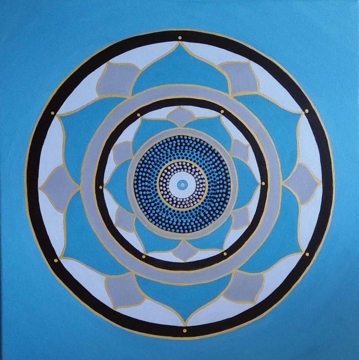 I FEEL IT IN MY HEART |Acrylic on canvas |50cmx50cm | $195