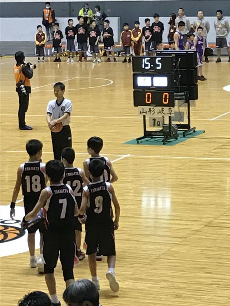 @Yoyogi National gymnasium  Japan Men's National Minibasketball Championship 2017.   First Round. Game start. Sakurada men's from Yamagata Pref.