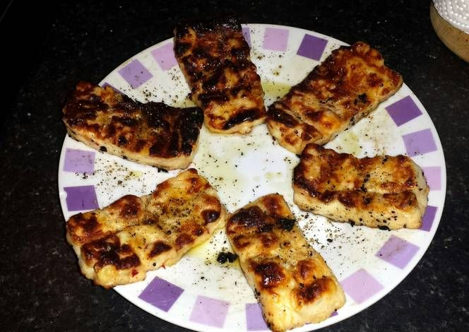 Barbecued Halloumi Cheese Recipe -  Very Tasty Food. Let's make it!