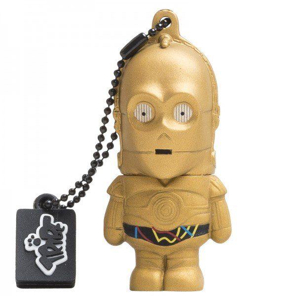 Tribe Star Wars USB 2.0 8GB Flash Drive C-3PO