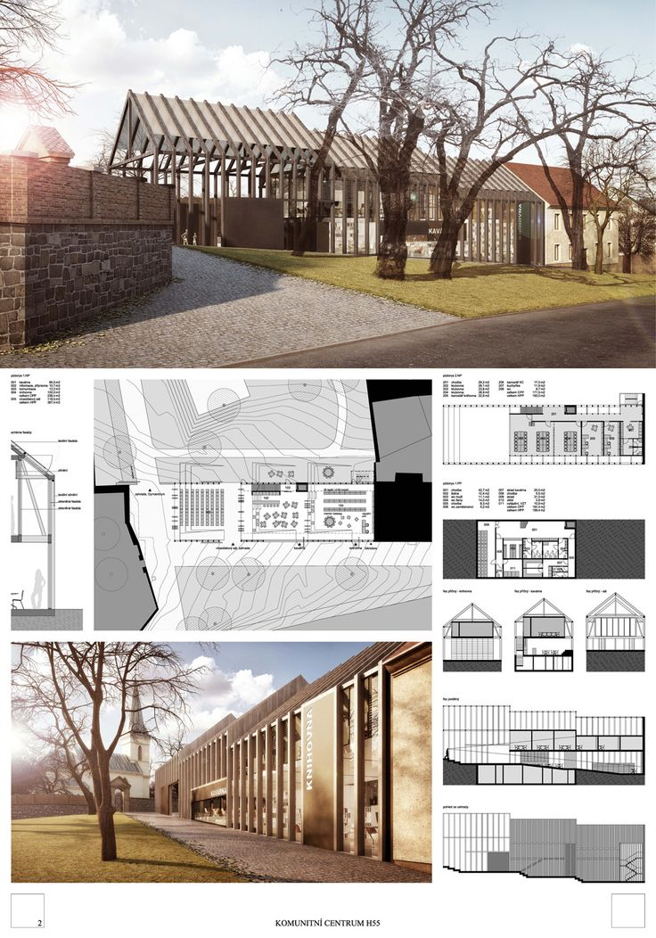 Winners of the Competition for the Community Centre Hloubetínská 55