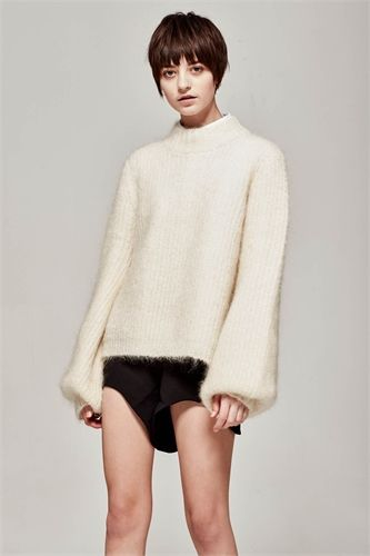 MARLE MIMI JUMPER IVORY -view all -AREA 51