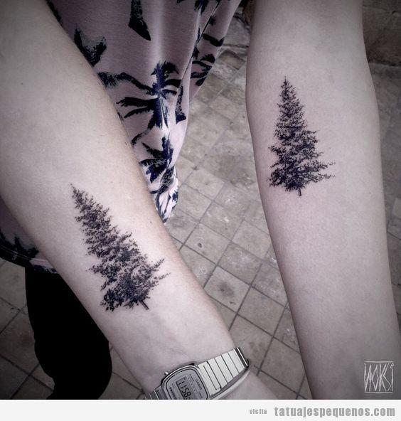 205 Tatuajes Pequenos Y Originales Para Hombre Tatuajes De Madre Naturaleza Tatuaje De Arbol Pequeno Tatuajes