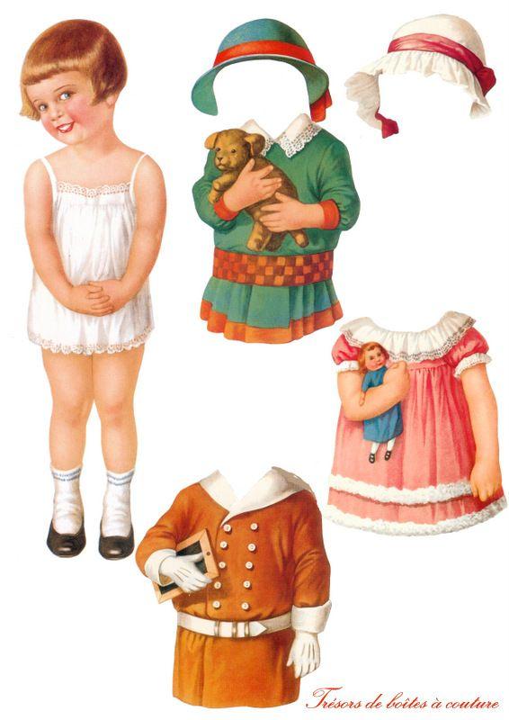 Puppen Anziehen