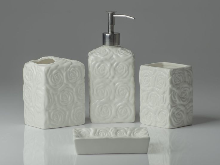 matching bathroom accessories sets. Designer 4 Piece Ceramic Bath Accessory Set the perfect blend of elegant  luxury design 32 best Sets images on Pinterest Liquid soap